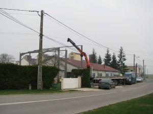 Historique - chantier ROGER