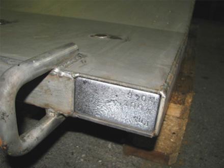 Porte de protection radiologique